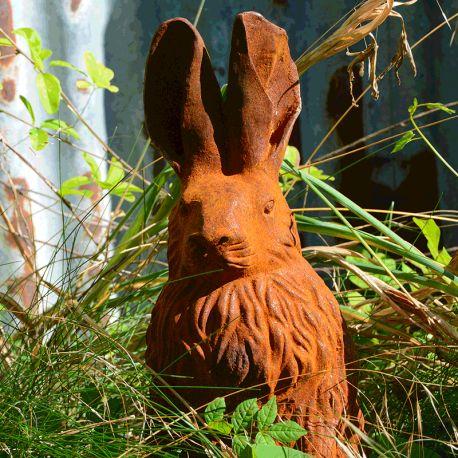 Statue de lapin